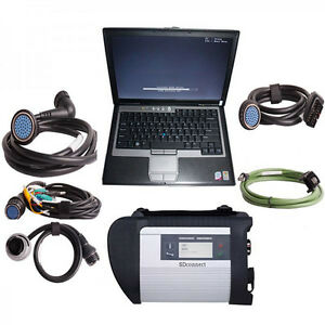 Mb Star C4 Best Quality Diagnostic Tool With Laptop Dell E5420 version 01 2018