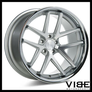 20 Rohana Rc9 Silver Concave Wheels Rims Fits Ford Mustang Gt