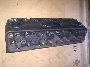 Gm 1957 1962 283ci V8 3731554 K196 Cylinder Head