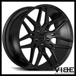 22 Giovanna Bogota Gloss Black Concave Wheels Rims Fits Range Rover Hse Sport