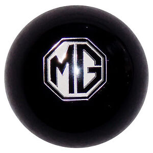 Mg Emblem Black Shift Knob 1 2 20 Thread U s Made