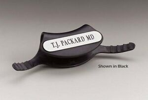3m Medical Surgical Stethoscope Identification Tags Black Bx 5 Part No 2170