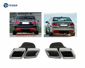 Fits Mercedes Benz S63 S65 Sl65 C63 Cls63 Amg E63 12 15 Exhaust Tip Muffler Pipe