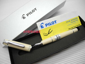 tracking No Pilot Fpr 3sr Prera Fine Nib Fountain Pen Ivory 6 Ink Cartridges