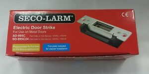 Seco larm Electric Door Strike To Use On Metal Doors sd 995c