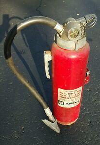 Ansul Sp 20 Red Vintage Fire Extinguisher Sp20 Please Read