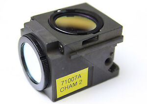 Nikon Blue Fluorescence Filter Cube Eclipse Quadfluor E400 E600 50i Microscope