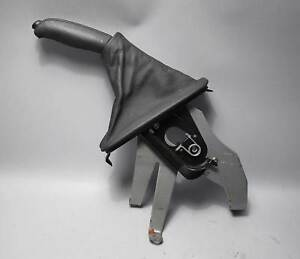 Bmw E53 X5 Sav Emergency Hand Brake Lever And Boot Black Leather 2000 2006 Used