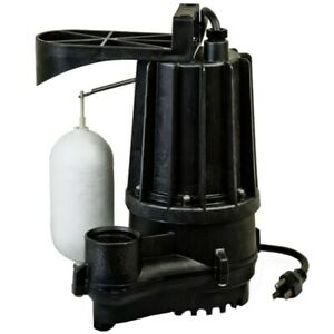 Zoeller M72 Aqua mate 1 3 Hp Thermoplastic Sump Pump W Vertical Float