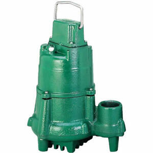 Zoeller N98 1 2 Hp Cast Iron Submersible Sump Pump non automatic W 25 Cord