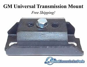New Gm Universal Transmission Mount Th400 Th350 4l60e 700r4 Fast Free Shipping