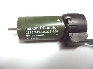 Maxon Dc Motor 2326 941 52 236 200 With Encoder