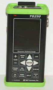 Ndt Systems Tg250 Ultrasonic Thickness Gauge