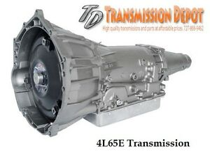 4l65e Stage 2 Transmission Gm Chevy 2 Piece Bell 2wd