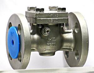 Sharpe Valves 25116 Stainless Steel 316 Swing Check Valve Class 150 Flanged