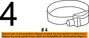 Dodge Chrysler Oem Turbo Turbocharger Intercooler Inlet Duct Clamp 68138381aa