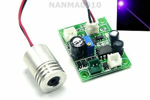 Powerful 200mw 405nm Violet Blue Laser Diode Module W Ttl Wood Engraving cutting