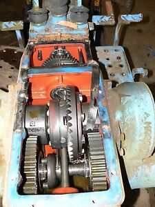 Ford 1600 Diesel Tractor Transmission Rear End With Gears Shift Cover Pto