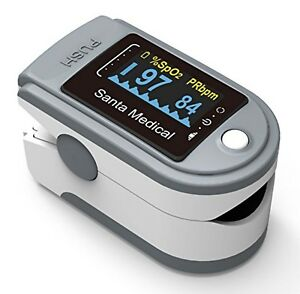Santamedical Fingertip Pulse Oximeter Oximetry Blood Oxygen Saturation Monitor