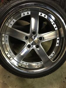 Vossen Rims With Brand New Tires