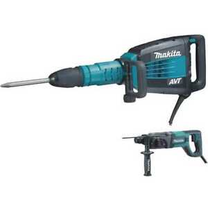 Makita 27 Lb Demo Hammer Sds plus Hr2475 1 Rotary hammer Hm1214cx New