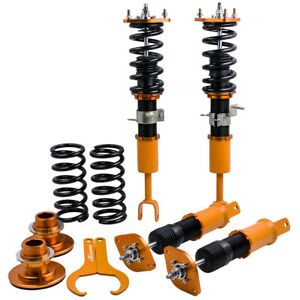 Pro Coilovers Kits Struts For Nissan 350z 03 09 Adj Height Shock Absorbers