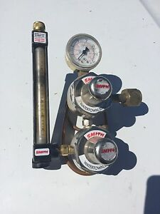 Miller Smith H1765d 320 Flowmeter Regulator