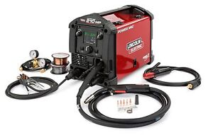 Lincoln Power Mig 210 Mp Multi process Welder K3963 1