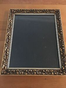 Vintage Rare Gesso Picture Photograph Frame 30s Gesso Shabby Cottage Chic