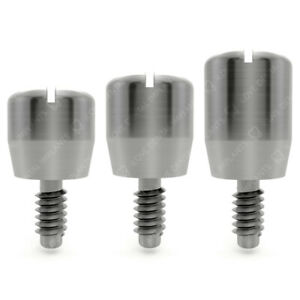 10 X Healing Cap Caps For External Hex Rp 5 5mm Dental Implants Abutment