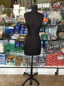 Missy Dressform Size 10 Made In Usa Woman Restored Dress Form Mannequin