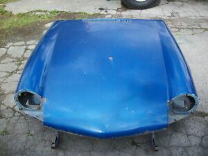 Triumph Spitfire Bonnet Solid From A 1976 Spitfire
