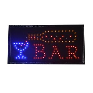 Bar Pub Sign Neon Lights Led Animated Customers Attractive Sign 220v