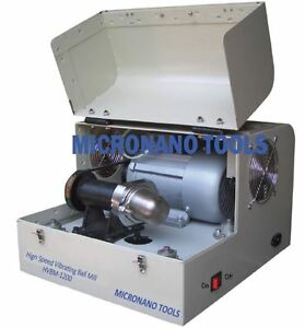 Bench top High Speed Vibrating Ball Mill hvbm 1200 With One 80ml Ss Jar
