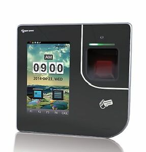 Finger Pass Kj 3500f Access Control Time Attendance 4 3 Ftf Lcd Reader Mifare