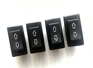 4 Universal Power Door Lock Power Window Rocker Switches 5 Pin