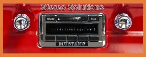 1964 1966 Ford Mustang New Am Fm Stereo Radio Usa 230 200 Watts Auxiliary In