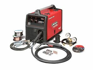 Lincoln Electric Power Mig 140c Mig Welder K2471 2