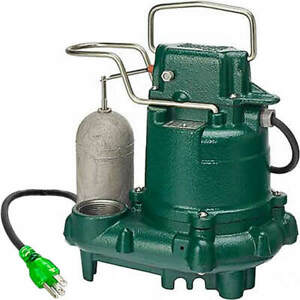 Zoeller M63 3 10 Hp Premium Cast Iron Submersible Sump Pump W Vertical Flo