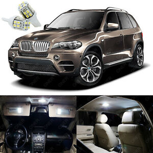 22 X Xenon White Led Interior Light Package Kit For Bmw X5 Series E70 2007 2013