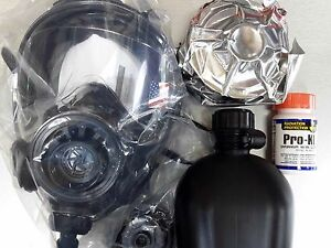 40mm Nato Cbrn Gas Mask Sge Infinity W drink System 2x Cbrn Approved Filters