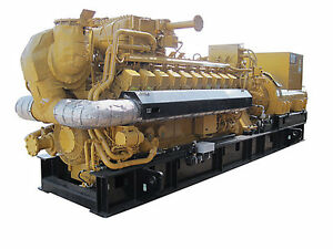 New Caterpillar G3520 2500kw Natural Gas Generator Sets Any Voltage