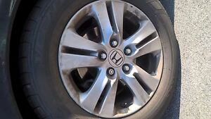 1 2011 2012 Honda Accord Wheels Tires 16x6 1 2 Alloy 5 Double Spoke