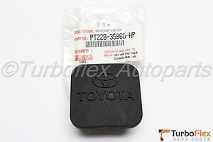 Toyota Tow Hitch Receiver 2 Cover Genuine Oem Pt228 35960 Hp