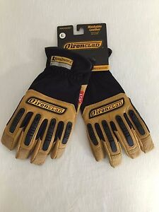 Ironclad Ranchworx Adult Men s Washable Leather Gloves