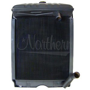 Ford 600 Series Tractor Radiator