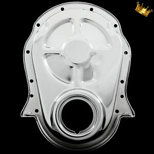 Timing Chain Cover Big Block Chevy For 396 427 454 Chevrolet 1965 1990 Chrome
