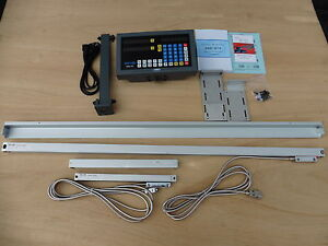 Digital Read Out System Kit For Lathe 2 axis fit 15 x40 14 x40 13 x40 Lathe