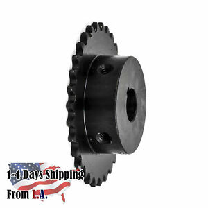 25b30 1 2 Bore 30 Tooth B Type Sprocket For 25 Roller Chain