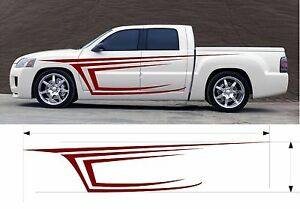 Vinyl Graphic Decal Car Truck Kit Custom Size Color Variation Fafb Tribattack